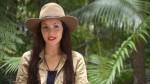 Im Dschungelcamp: Model Nathalie. Foto: RTL