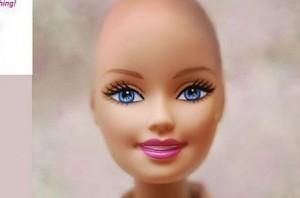 So soll die glatzköpfige Barbie aussehen. Screenshot von www.facebook.com/BeautifulandBaldBarbie