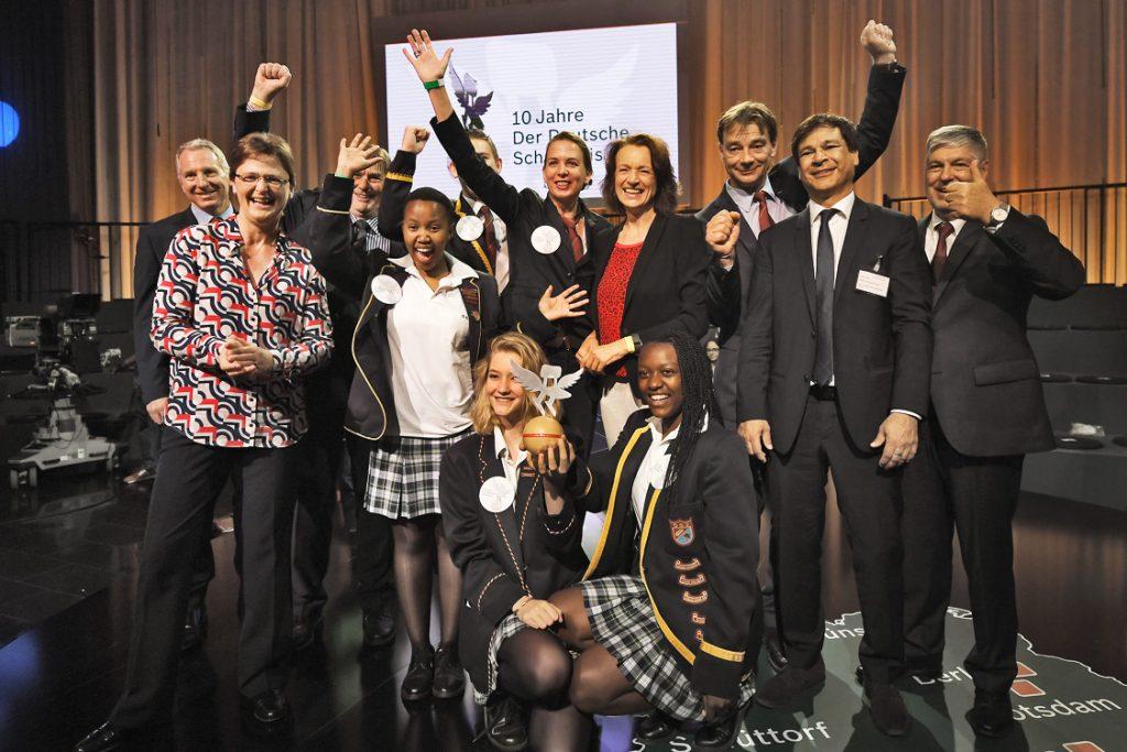 """Sonderpreis Deutsche Internationale Schule Johannesburg - Robert Bosch Stiftung - Verleihung """"Deutscher Schulpreis 2016"""" in Berlin, 08.06.2016"""