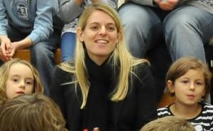 Wuchs in einem Kinderhaus als Tochter der Hauseltern auf: Nia Künzer. Foto: Albert-Schweitzer-Verband