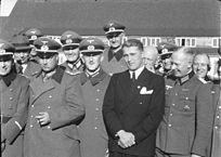Wernher von Braun in war technischer Leiter der Heeresversuchsanstalt Peenemünde, in der u.a. Raketen entwickelt wurden. Hier im Frühjahr 1941.