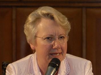 Wurde bei der Bundestagswahl als Abgeordnete in ihrem Wahlkreis in Ulm direkt gewählt: Annette Schavan. (universidadcatolica de chile/Flickr CC BY-SA 2.0)