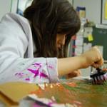 Autistisches Kind in einer Förderschule für geistig Behinderte. Foto: Flickr