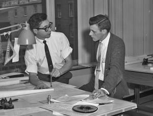 Das waren noch Zeiten: Ingenieure in Seattle 1962. Foto: Seattle Municipal Archives / Flickr (CC BY 2.0)