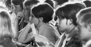 Anfang der 70-er Jahre herrschte ein bundesweites Chaos bei der Studieneinschreibung.  Foto: Eckard Grieshammer / Archiv Hochschule für Ökonomie / Wikimedia Commons (CC BY-SA 3.0)
