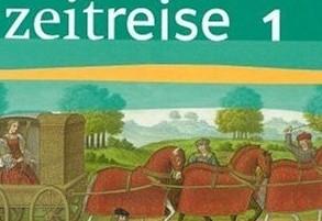 """Eines der nominierten Schulbücher: """"Zeitreise 1"""" aus dem Klett-Verlag."""