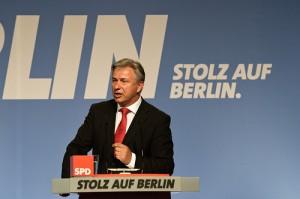 BU: Klaus Wowereit auf dem Parteitag der Berliner SPD am 13. Mai 2011. (Foto: Axel Kuhlmann/Flickr. CC BY 2.0)