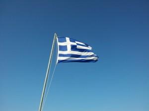 Als Willkommensgeschenk bekamen die Griechen u.a. einen Regenschirm. (Foto: Thomas Pietrzyk/pixelio.de)