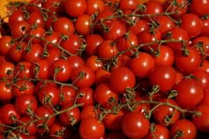 Ob Bio-Tomaten oder konventionelle Tomaten spielt für die Gesundheit nur eine untergeordnete Rolle. Petra Bork/pixelio.de