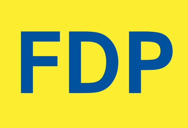 Die FDP möchte sich offenbar in der Bildungspolitik profilieren. Logo: Wikimedia Commons
