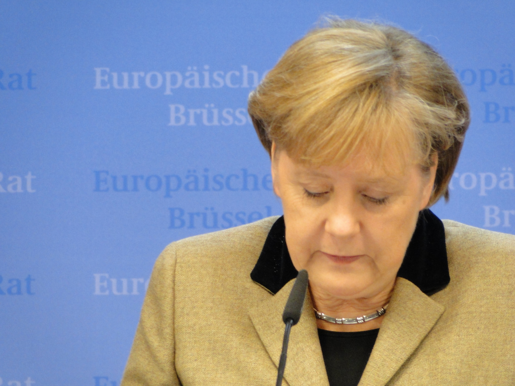 """""""Das fällt nicht in meine Zuständigkeit"""": Angela Merkel (Archivbild). Foto: Maxence / flickr (CC BY 2.0)"""