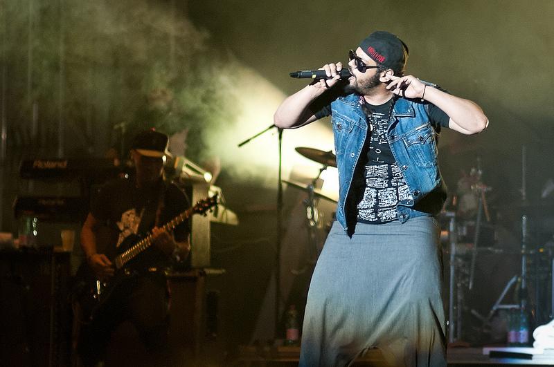 Der Rapper Samy Deluxe dozierte vor Germanistik-Studenten in Hamburg. Foto: filedump / flickr (CC BY-SA 2.0)