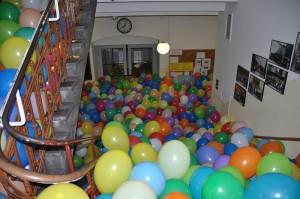 Der bewährte Luftballonstreich. Die Idee der Aachener Schüler war offenbar weit weniger harmlos. (Foto: dertester/Wikimedia, CC BY-SA 3.0)
