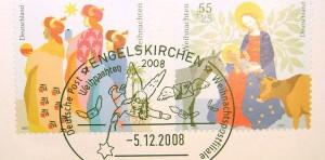 Der Stempel des Weihnachtsposamts Engelskirchen. Foto: Wost 01 / Wikimedia Commons
