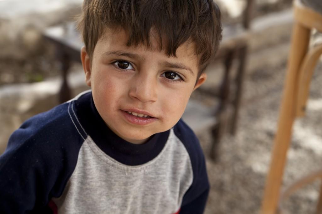 Syrisches Flüchtlingskind. Foto: MaximillianV / flickr (CC BY 2.0)