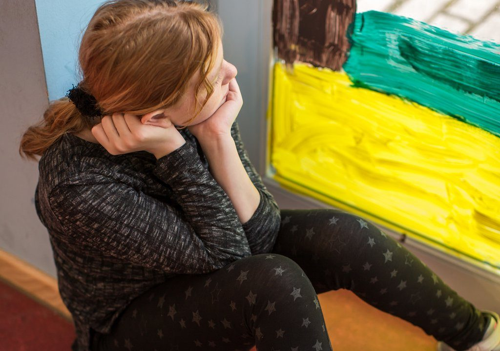Unbeachtete Kinder und Jugendliche weisen Defizite in ihrer Lebenszufriedenheit, Empathiefähigkeit und ihrem Selbstvertrauen auf. Foto: Bayer Vital GmbH (Bepanthen-Kinderförderung).