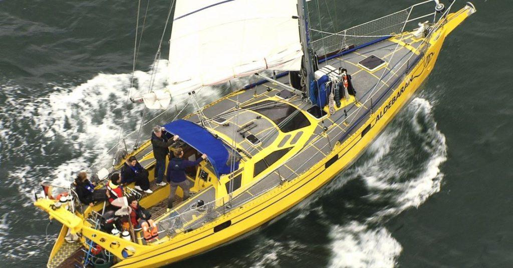 Das Forschungsschiff Aldebaran. Foto: www.aldebaran.org