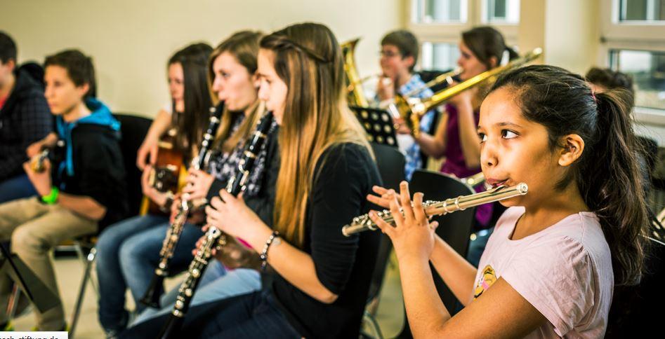Auch musische Bildung wird am Gymnasium in Alsdorf großgeschrieben. Foto: Theodor Barth / Deutscher Schulpreis