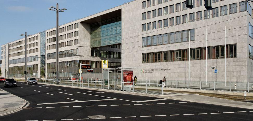 Ort der Verhandlung: das Amtsgericht Düsseldorf. Foto: Wiegels / Wikimedia Commons (CC BY 3.0)