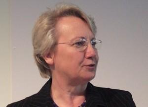 Wollte mehr Anerkennung für die Berufsausbildung: Bundesbildungsministerin Annette Schavan. Foto: Andreas Schepers / Flickr (CC BY 2.0)