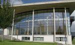 Audimax der Uni-Flensburg. Die geplante einwöchige Karikaturen-Ausstellung hat die Uni nun abgesagt. Der Organisator habe nicht recherchiert, um wen es sich handelt. Foto: N. Simonsen / Wikimedia Commons (CC BY-SA 3.0)