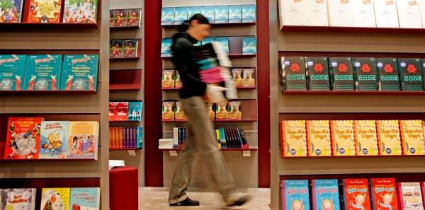 Es geht jetzt los: Aufbau auf der Frankfurter Buchmesse. (Foto: Alexander Heimann/Frankfurter Buchmesse)