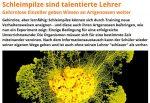 Wissenschaft kann auch mal lebendig sein. Screenshot des Beitrags von scinexx.de (Link unten)