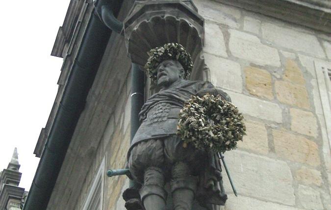 Der Schulstifter: Herzog Johann Casimir von Sachsen-Coburg (1564–1633). Foto: Sozialer Denker / Wikimedia Commons (CC BY 3.0)