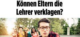 """Mobbing unter Schülern: Die """"Bild""""-Zeitung empfiehlt Eltern, Lehrer zu verklagen – sogar Schmerzensgeld sei drin"""