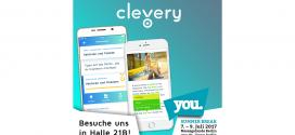 """""""Clevery"""" auf der YOU: Cornelsen ist mit Abi-App auf der Jugendmesse in Berlin vertreten"""