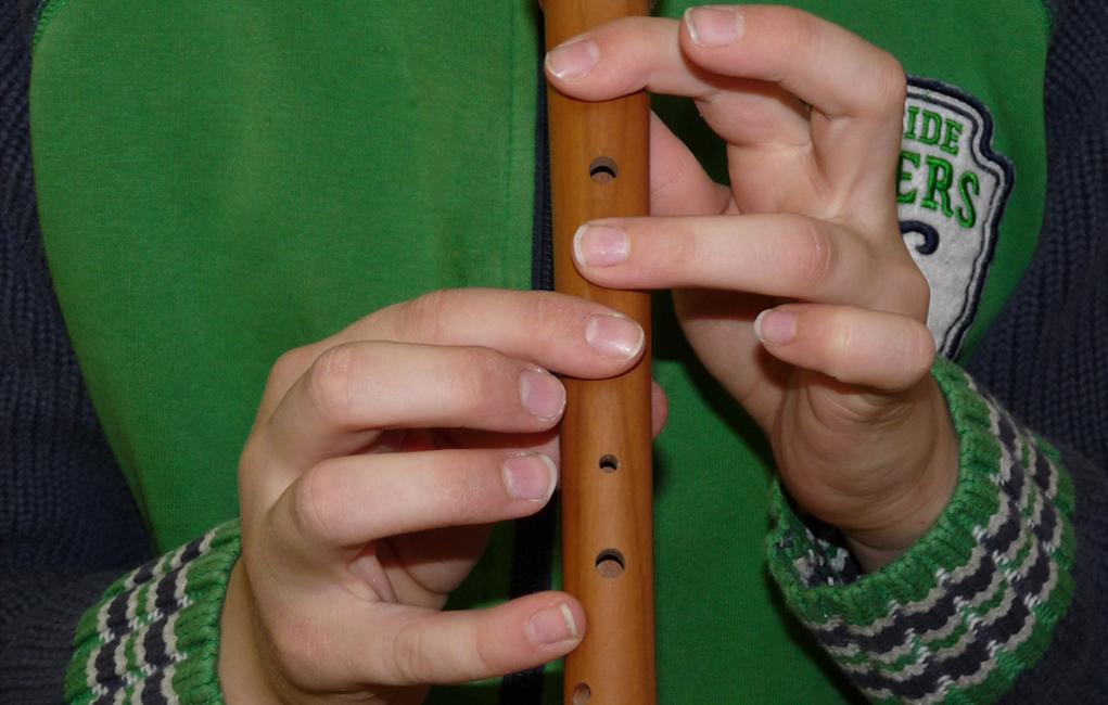 Blockflötenspieler