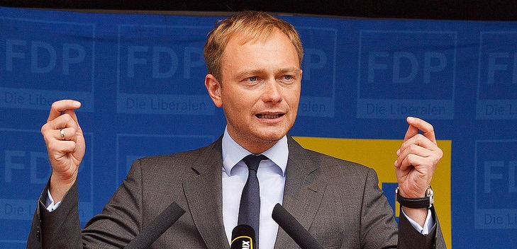 Sorgt sich um die Kita-Qualität: FDP-Hoffnungsträger Christian Lindner. Foto: Dirk_Vorderstraße / flickr (CC BY 2.0)