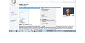 Gerne von Schülern genutzt: das Online-Lexikon-Wikipedia. Screenshot: News4teachers