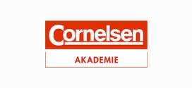 """Neues Fortbildungsformat Online-Live-Seminare: Cornelsen Akademie nimmt Schwerpunktthemen """"Binnendifferenzierung"""" und """"Unterrichtsstörungen"""" ins Visier"""