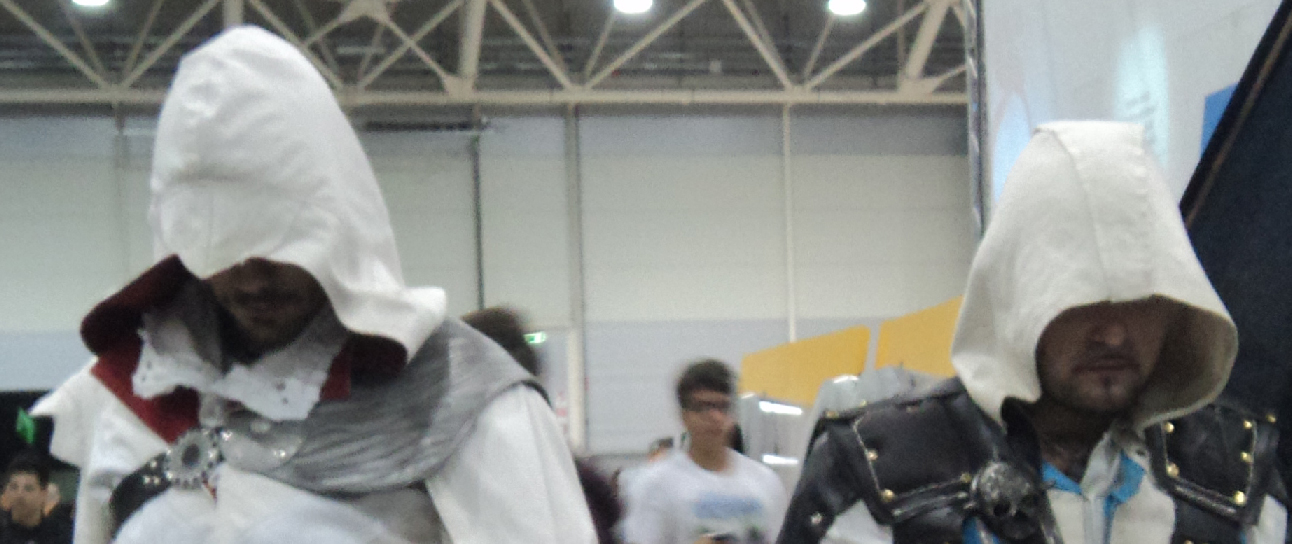 Beim Cosplay schlüpfen die Spieler in die Roller der Charaktäre aus Computerspielen. Foto: Nicholas Gemini / Wikimedia Commons (CC-BY-SA-3.0)