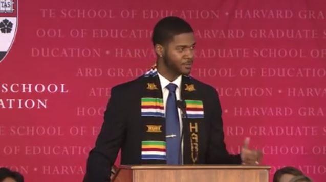 Inspiration gefällig? Die Rede von Donovan Livingston ist überaus hörenswert. Screenshot