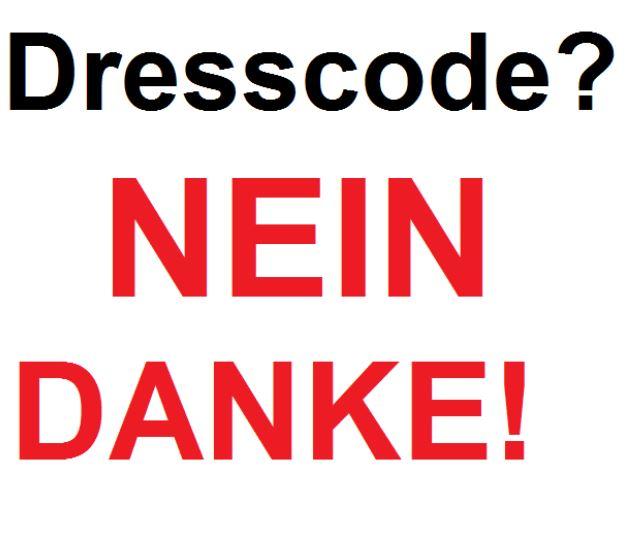 Mit diesem Slogan wirbt das Aktionsbündnis gegen die Kleidungsordnung an einem Würzburger Gymnasium. Foto: Screenshot