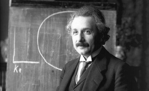 Gründervater des Max-Planck-Instituts für Physik: Albert Einstein. Foto: Wikimedia Commos
