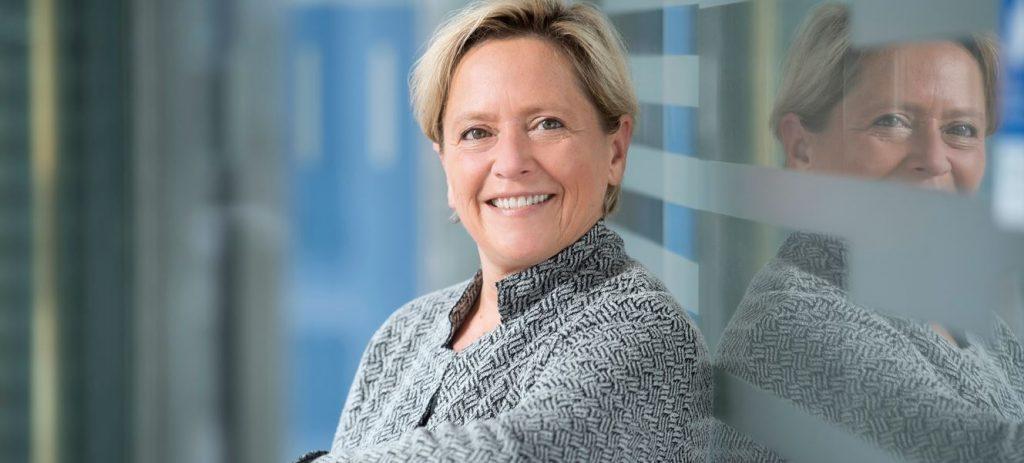 Unter Druck: Baden-Württembergs Kultusministerin Susanne Eisenmann. Foto: Kultusministerium Baden-Württemberg