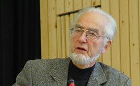 Prägte die Bundesrepublik entscheidend mit: Ex-Minister Erhard Eppler (Foto von 2002). Foto: Holger Noß / Wikimedia Commons (CC BY-SA 2.5)