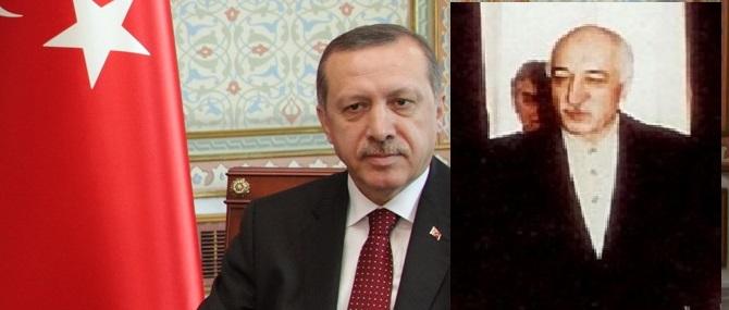 Einst Weggefährten jetzt Erzfeinde im Kampf um die Macht in der Türkei. Erdogan und Gülen. (Fotos Wikimedia)