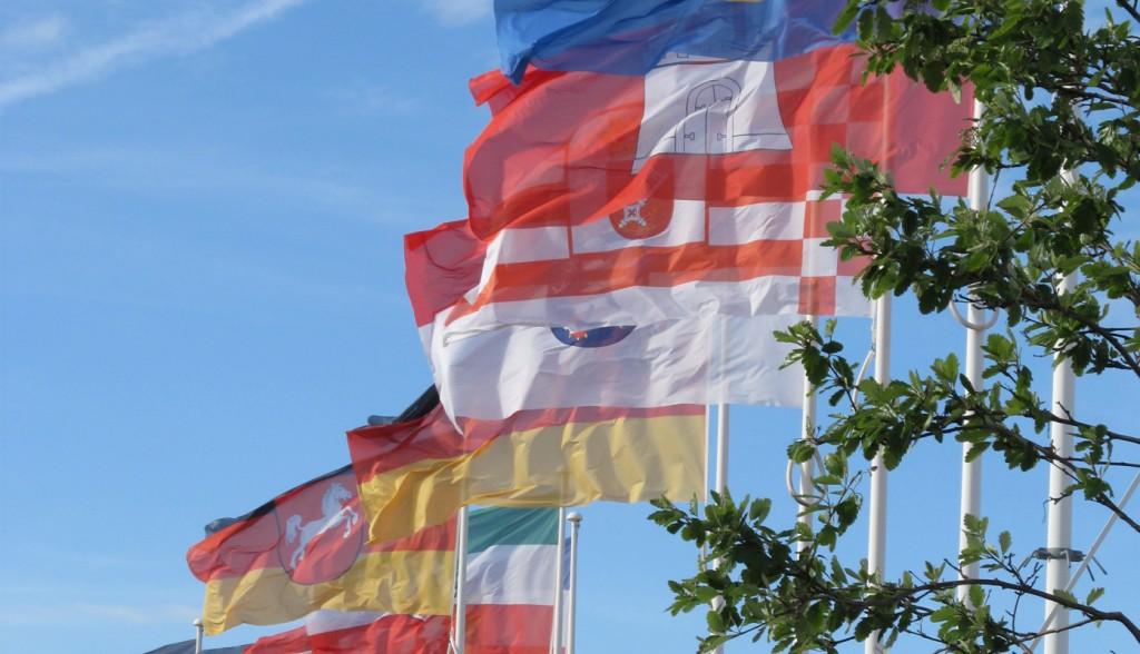 Fahnen verschiedener Bundesländer