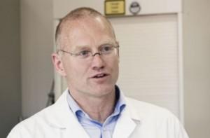 Chemie-Professor - und guter Schwimmer: Andreas Fath, Foto: Hochschule Furtwangen, Projekt Rheines Wasser.