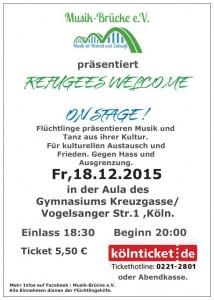 Am Freitag findet der Musikabend statt. Bild: Musikbrücke e.V.