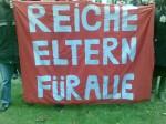 Auch eine Lösung ... Bildungsdemonstration in Potsdam 2009. Foto: Freenerd / Flickr (CC-BY-2.0)