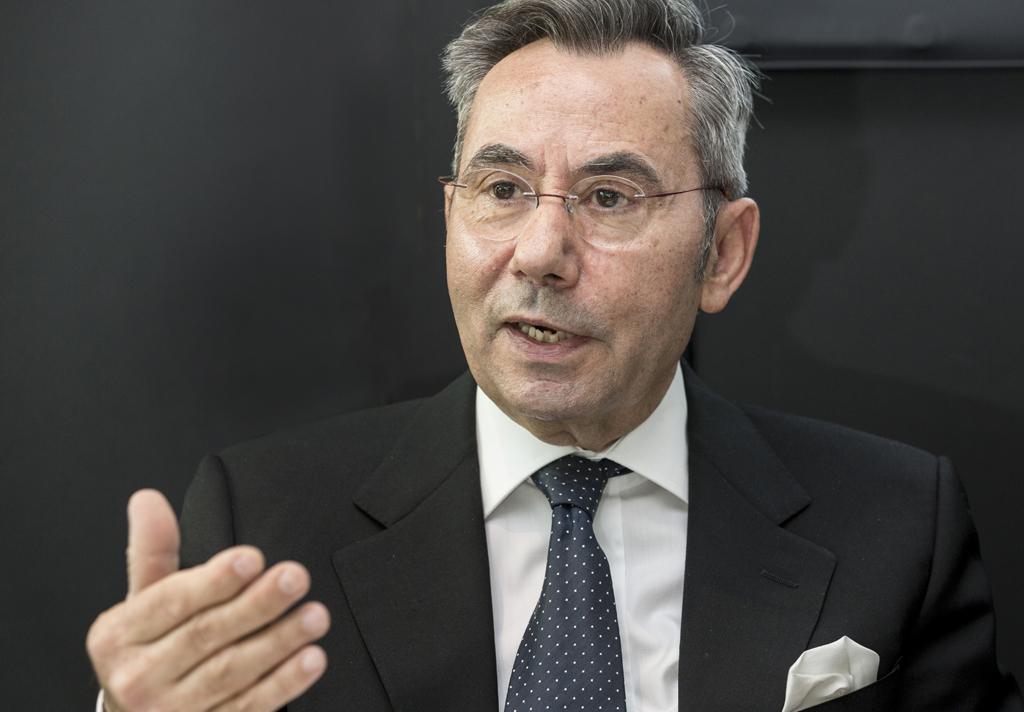 Verbandspräsident Wassilios Fthenakis fordert mehr Investitionen in die digitale Bildung. Foto: Messe Stuttgart