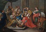 Ein rituelle Fußwaschung - wie die Fußwaschung Christi nach dem letzten Abendmahl - wäre in der Hamburger Uni verboten. (Gemälde aus dem 18. Jahrhundert). Foto: Wikimedia Commons