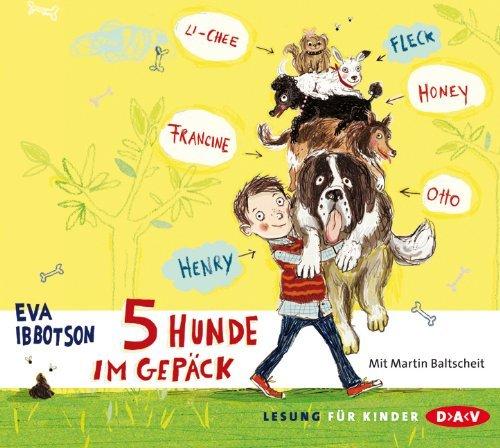"""Hat das Zeug zum Klassiker: """"5 Hunde im Gepäck"""" von Eva Ibbotson. ."""