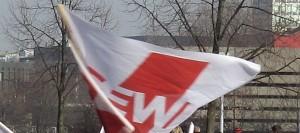 GEW-Fahne
