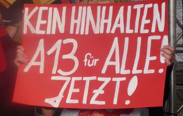 """Nach dem Ja von Brandenburg zu """"A13 für alle"""": Jetzt steigt der Druck auf andere Bundesländer"""